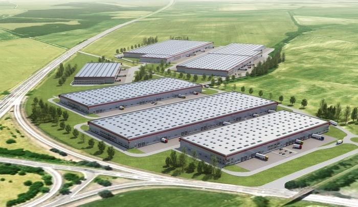 Logistické a distribučné centrum P3 Park Lozorno